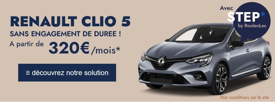 Renault Clio5 Au Meilleur Prix Leasing 1